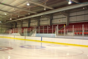 Deeside Rink at the Leisure Centre